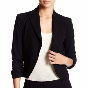 Express Cropped Sleeve Blazer